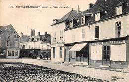 Châtillon Coligny Place Du Marché Magasin Chenoux Rabillon - Chatillon Coligny