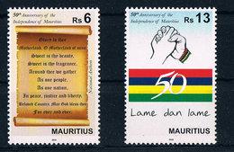 Mauritius - 50 Jahre Unabhängigkeit 2018 - Independence - National Hymne - Maurice (1968-...)