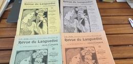 REVUE DU LANGUEDOC/BULLETIN DES MAINTENEURS DES JEUX FLORAUX /LAMALOU LES BAINS / 1941 - Books, Magazines, Comics
