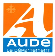 Autocollant Aude Le Département - Format: 12.5x12.5 Cm - Stickers