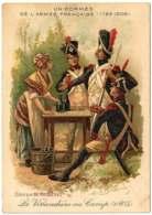 0 - F21303PAP - CHROMO - RIQLES - UNIFORMES - Vivandiere Au Camp 1805 - Ariste BOULINEAU - Très Bon état - THEMES - Cromos