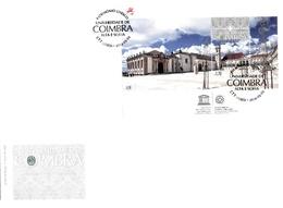 Portugal & FDCB UNESCO, University Of Coimbra, Patio Das Escolas, Alta E Sofia 2014 (4334) - UNESCO