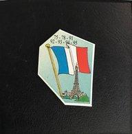 75 Ile De France Magnet Departement Le Gaulois Depart'Aimant 1er Serie - Publicitaires