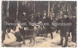 Lietuva, Miškininkai, Miško Medienos Tikrinimas, 1938 M. Fotografija - Lituanie