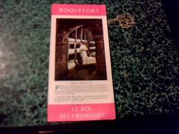 Vieux Papier Dépliant Touristique Millau Roquefort Rouergue Pays Du Tourisme Année ?, - Tourism Brochures