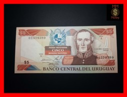 URUGUAY 5 Pesos Uruguayos 1997 P. 73 A  UNC - Uruguay