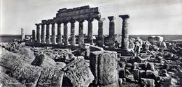 Selinunte - Trapani - Tempio C - Formato Lungo Non Viaggiata – E 16 - Trapani