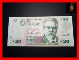URUGUAY 20 Pesos Uruguayos 2000 P. 83  Serie C  UNC - Uruguay