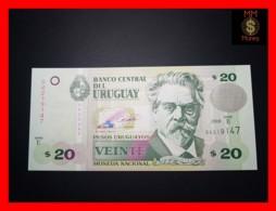 URUGUAY 20 Pesos Uruguayos 2008 P. 86 A  Serie E  UNC - Uruguay