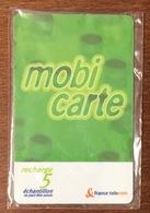 MOBICARTE RECHARGE 5 NSB EXP 12/2002 CARTE TÉLÉPHONIQUE A CODE PUBLIQUE POUR COLLECTION TÉLÉCARTE - Frankreich