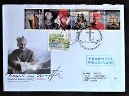 Poland, Circulated FDC To Portugal « POPE JOHN PAUL II », 2012 - 1944-.... Republic