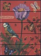 -003- FLOW Ed. : SOMNIFERUM * OISEAU - PAPILLON - FLEUR * - MARQUE PAGE PUZZLE - Bookmarks