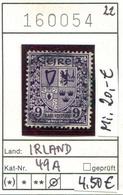 Irland - Eire - Michel 49 A - Oo Oblit. Used Gebruikt - - 1922-37 État Libre D'Irlande