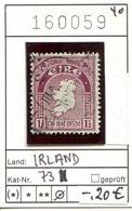 Irland - Eire - Michel 73 - Oo Oblit. Used Gebruikt - 1937-1949 Éire