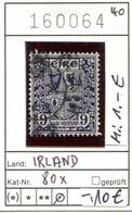 Irland - Eire - Michel 80x - Oo Oblit. Used Gebruikt - 1937-1949 Éire