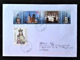 Poland, Circulated Cover To Portugal « POPE JOHN PAUL II »,KATOWICE, 2012 - 1944-.... Republic