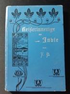RARE BOOK BUCH BÄRLOCHER, VICTOR:  Reiserinnerige Us Indie 1898 Autogramm !! India Reise Vojage Viaggi Travel - Livres, BD, Revues