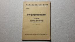 Raree Heft Dienstvorschriften Der Jungmädeldienst 1938 BDM JM - 1939-45