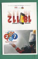 Calendrier Des Sapeurs Pompiers 2017 - Small : 2001-...