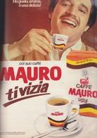 (pagine-pages)PUBBLICITA' CAFFE' MAURO      Gente1980/47. - Livres, BD, Revues