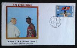 Swaziland, Uncirculated FDC « POPE JOHN PAUL II », « Papal Visit », 1988 - Swaziland (1968-...)