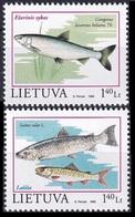1998Lithuania671-672Sea Fauna1,80 € - Mundo Aquatico