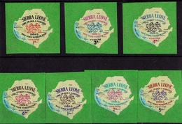Sierra Leone - Mint Lightly Hinged - 1964 World Trade Fair New York Self Adhesive - Sierra Leona (1961-...)