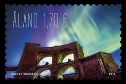Aland 2019 Mih. 470 Aurora Borealis MNH ** - Aland