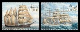 Aland 2020 Mih. 482/83 Sailing Ships Mozart And Viking MNH ** - Aland