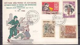SOUTH VIETNAM FDC 297/300 - Vietnam