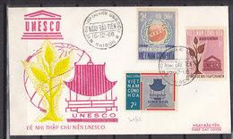 SOUTH VIETNAM FDC 301/303 - Vietnam