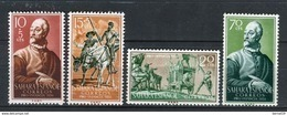 Sahara 1958. Edifil 149-52 ** MNH. - Sahara Español