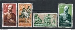 Sahara 1958. Edifil 149-52 ** MNH. - Sahara Spagnolo