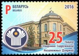 447 - Belarus - 2016 - 25 Years Of The CIS - 1v - MNH - Lemberg-Zp - Belarus