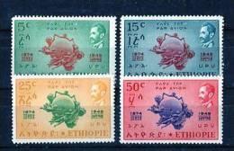 Etiopía 1949. Yvert A31-34 ** MNH. - Ethiopia
