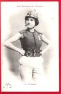 Les Femmes De L'Avenir - 4 - Pompier -phototypie A.BERGERET - Nancy - Frauen