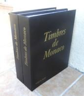 MONACO - 2 Albums Yvert + Intérieurs Des Origines à 1998 (+ 2007/2009) - Bon état. - Bindwerk Met Pagina's