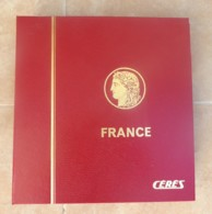 FRANCE - Album Cérès + Intérieurs 1980 / 2000 - Bon état. - Albums & Binders