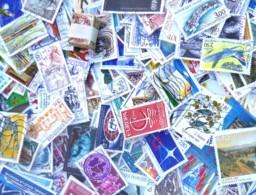 FRANCE - 500 Grammes De Timbres Oblitérés Décollés (sans Papier) - Toutes époques - Bon état. - Stamps