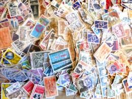FRANCE - 1966/2000 - 400 Gr. De Timbres Oblitérés Décollés - Très Beaux - Des Milliers De Timbres- Forte Cote - Stamps