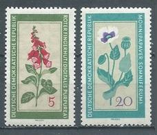 DDR YT N°471-474 Fleurs Médicinales Neuf/charnière * - Czechoslovakia