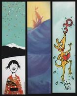 -015-  LIBRAIRIE JEUNESSE EAU VIVE AVIGNON  - LOT 3 MARQUE PAGE - Bookmarks
