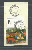 754  GAUGUIN  Manque Dent   Recto , Pa307x2  Au Verso   Magnifiqueoblitération De Tadine Recommandé    (clasyverouge17) - Used Stamps