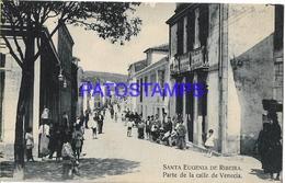 134361 SPAIN ESPAÑA SANTA EUGENIA DE RIBEIRA PARTE DE LA CALLE DE VENECIA POSTAL POSTCARD - Spain
