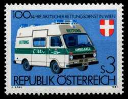 ÖSTERREICH 1981 Nr 1694 Postfrisch S59E98A - 1981-90 Ungebraucht