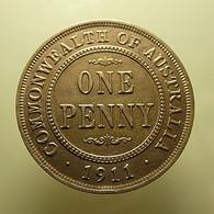 Australia 1 Penny 1911 - Monnaie Pré-décimale (1910-1965)