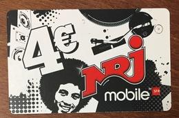 RÉUNION SFR NRJ RECHARGE GSM 4 EURO EXP 05/12 PRÉPAYÉE CARTE À CODE PHONECARD CARD PREPAID - Réunion