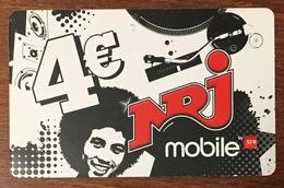 RÉUNION SFR NRJ RECHARGE GSM 4 EURO EXP 03/13 PRÉPAYÉE CARTE À CODE PHONECARD CARD PREPAID - Réunion