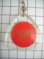1012 Porte Clefs MOBIL  Et Au Verso Ancêtre Tacot  (marque Disparue) - Key-rings