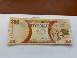 Guyana 50 Dollar Uncirc. Polymer Banknote 2016 - Guyana